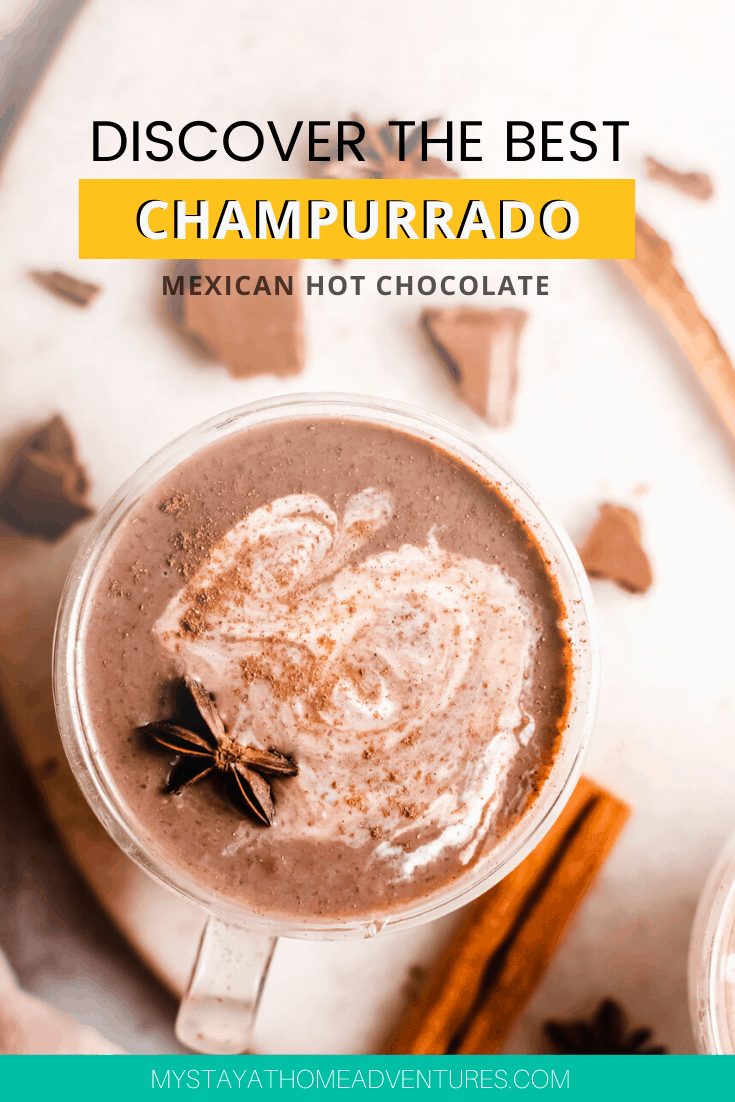 Authentic hot chocolate is not like the hot chocolate we know. This Champurrado recipe is the best and easy to make. Learn how here. via @mystayathome