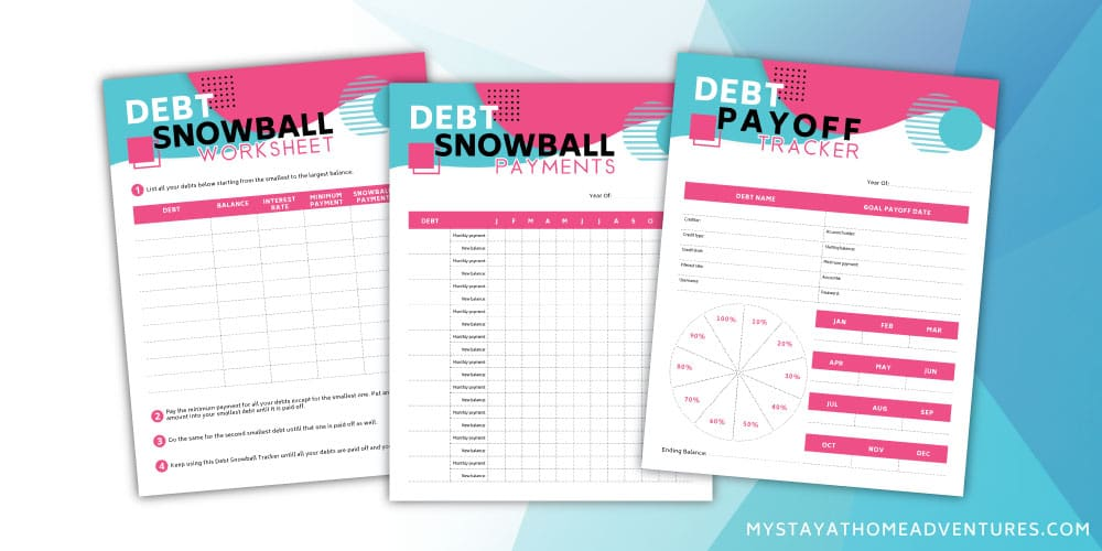 Free Debt Snowball Printable Kit To Help You Start Your Financial Journey