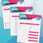 Debt Snowball Printable Kit