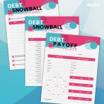 Debt Snowball Printable Kit