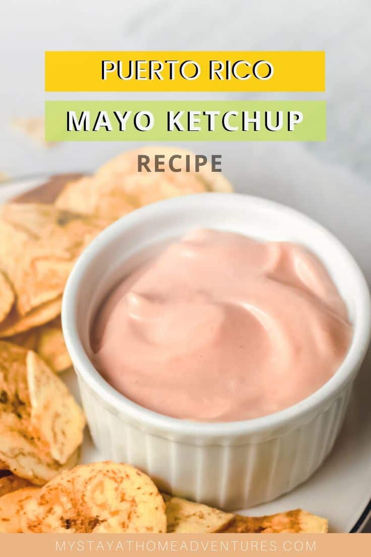 How to make this famous dipping sauce, Puerto Rican Mayo Ketchup Sauce or Puerto Rican Fry Sauce recipe, and learn why is our favorite sauce. via @mystayathome