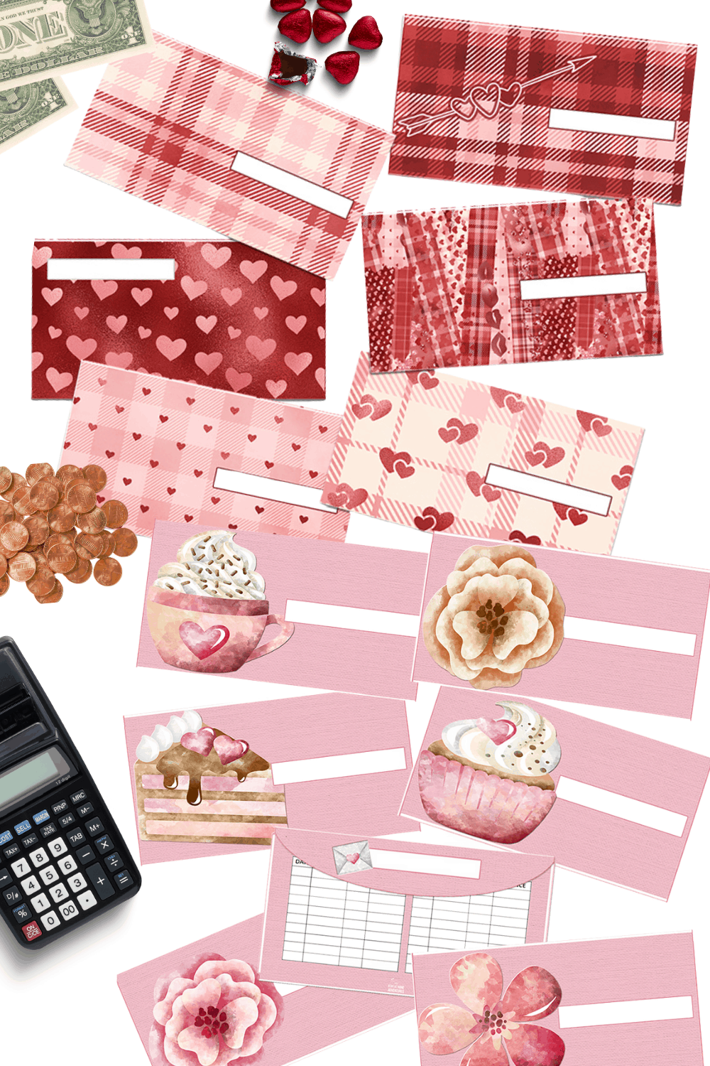 Check out our St Valentine's Day cash envelopes sets. Different styles to fit your needs. Wallet size fit. Prices are ranging from $0 and up. via @mystayathome