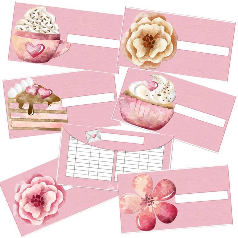 Valentine's Day Cash Envelopes