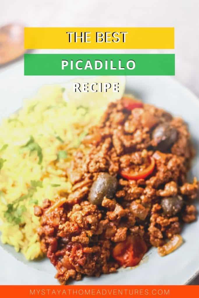 puerto rican picadillo with no sofrito