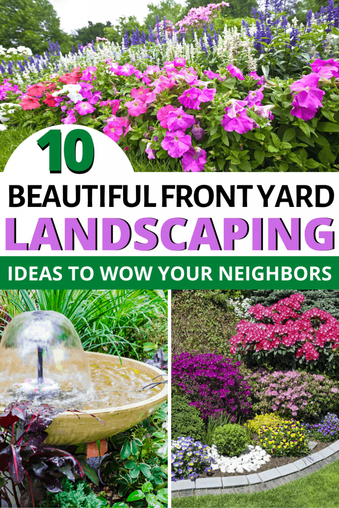 10 Simply Beautiful Front Yard Landscaping Ideas To Wow Your Neighbors