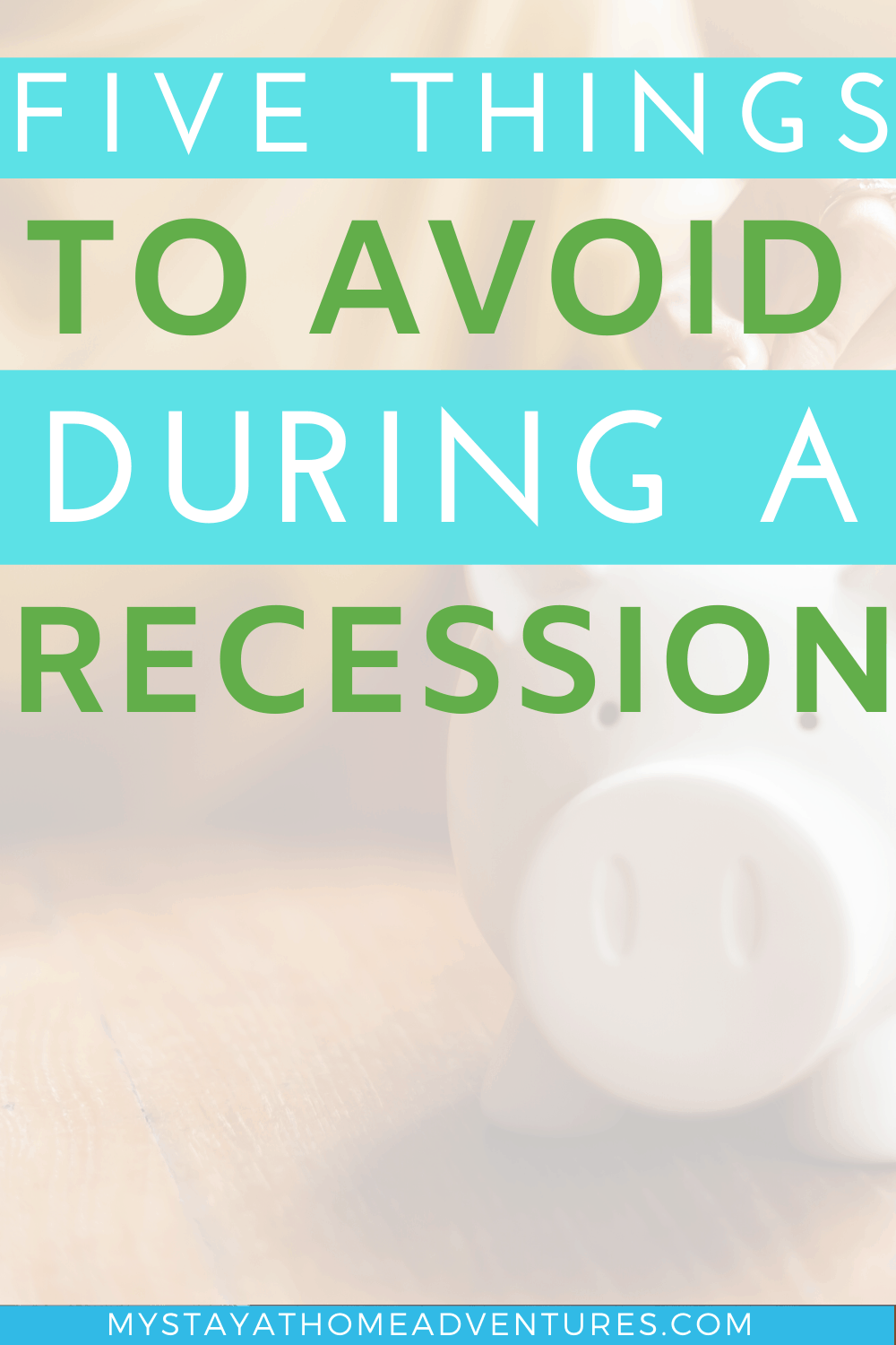 Learn about the 4 economic cycles and why you should always be prepared to handle the least favorite cycle, the recession. via @mystayathome