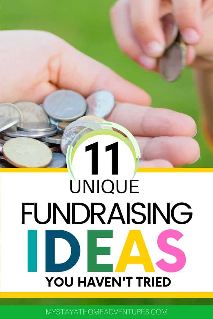 Everyone has a cause that requires funds. To stand out and make an impact try these eleven unique fundraising ideas to help your cause. via @mystayathome