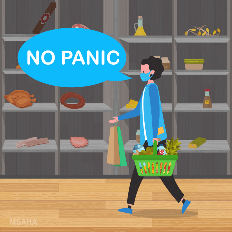 Grocery Shopping While Social Distancing