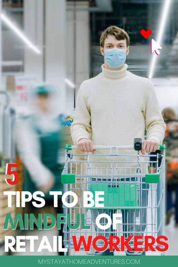 While shopping today, follow these 5 tips to be mindful of retail workers and keep everyone healthy. Before you decide to head out, read this. via @mystayathome