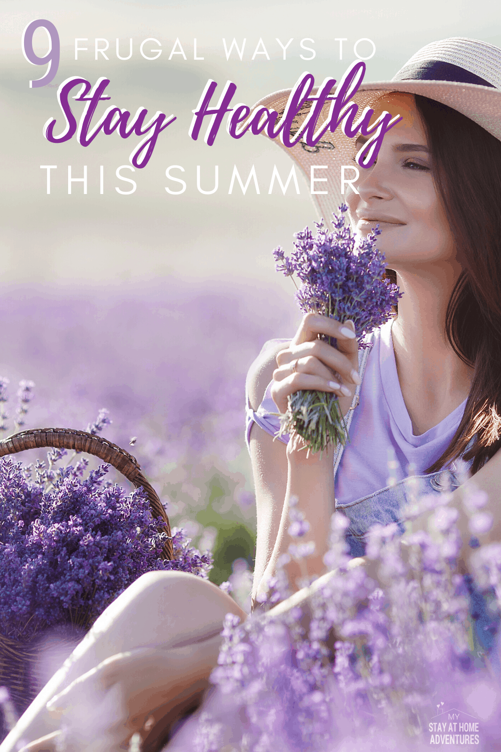 Don't break your healthy habits this 2020 summer season! Learn nine frugal ways to stay healthy this summer that you are going to love! #summer #healthysummer #frugalliving #healthylifestyle via @mystayathome