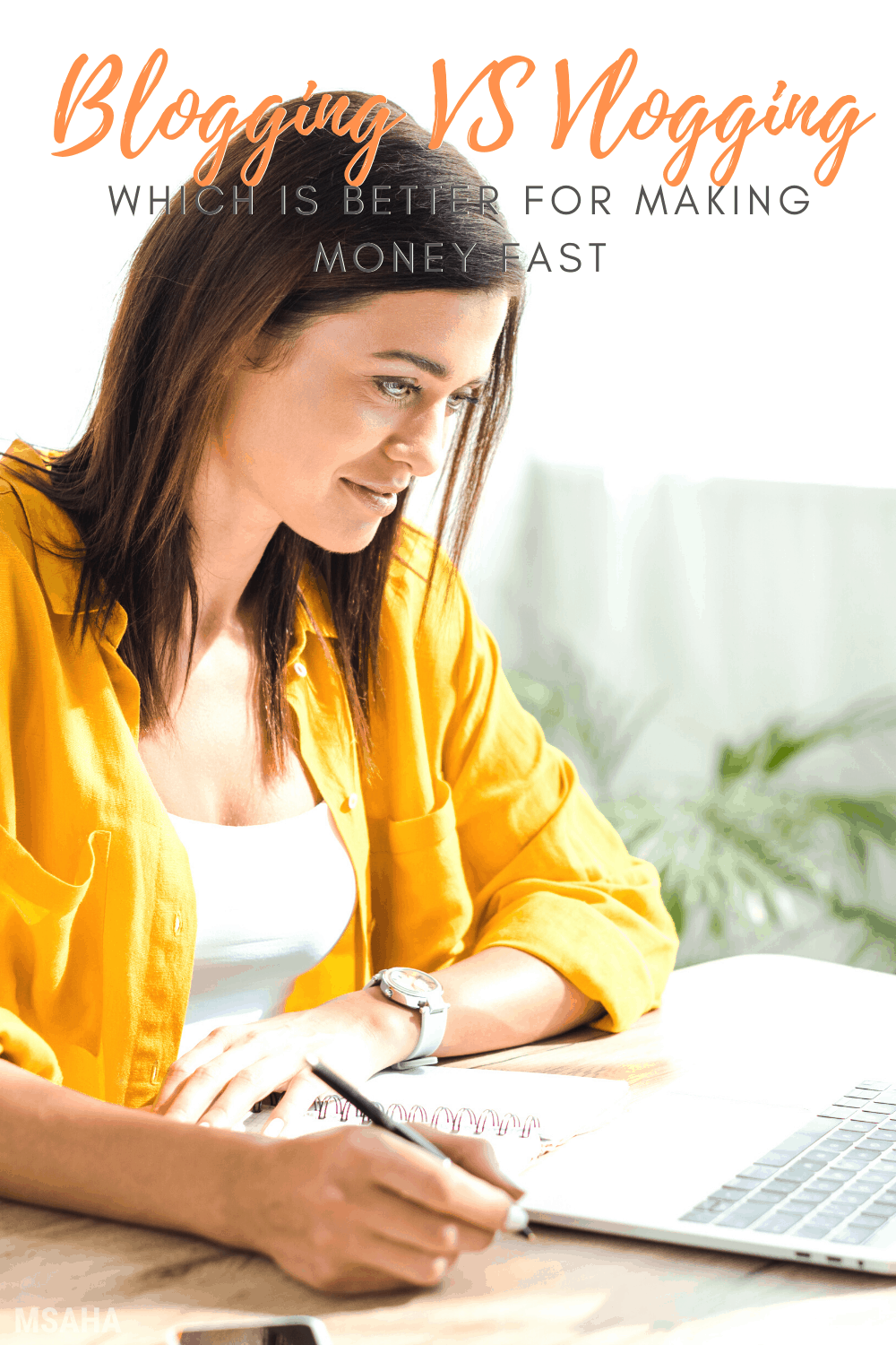 Blogging vs vlogging, what's the difference and how do they each make you money, fast. Learn all you need to know about them and their pros and cons. via @mystayathome