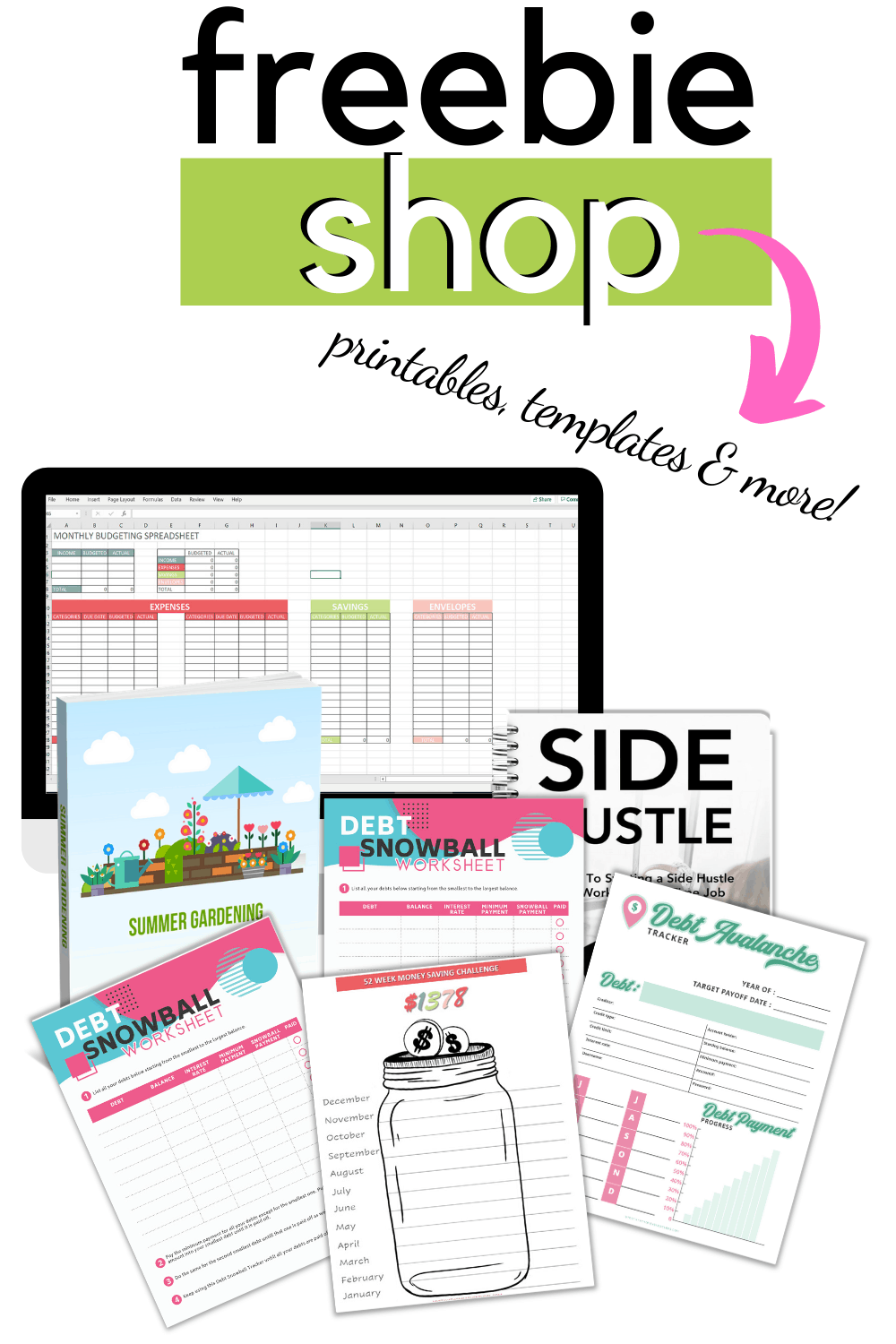 Download and find the best freebies we have to offer. Find planners, printables, and free online courses at no cost to you. #freebies #freeprintables #free #freebiefriday via @mystayathome