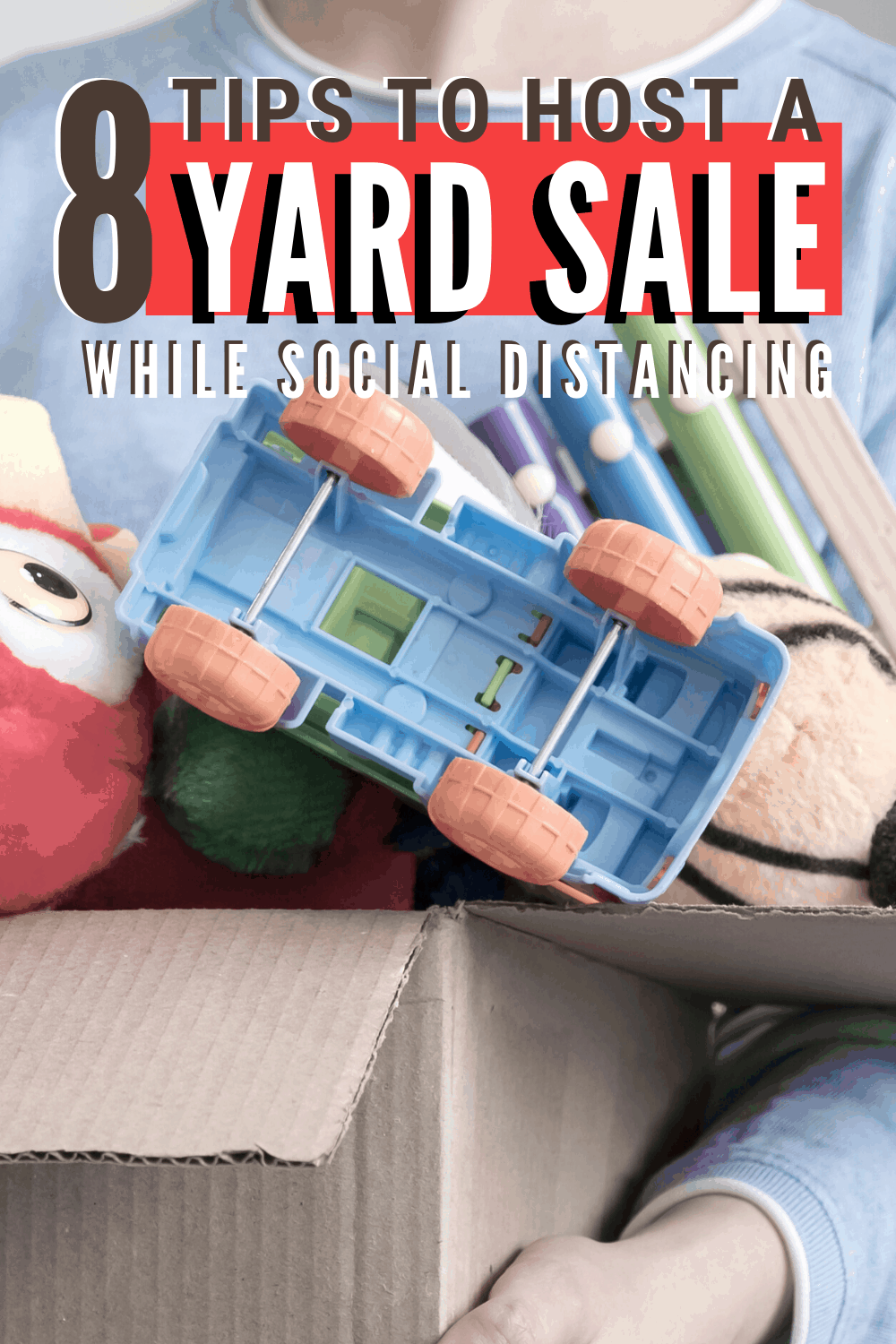 In many areas of the country, it is possible to host a yard sale by following eight tips to help you organize one while following social distancing. #yardsale #socialdistancing #summer #makemoney via @mystayathome