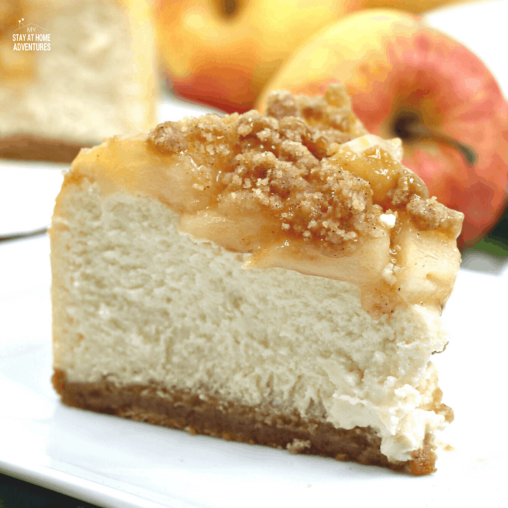 Instant Pot Apple Crumble Cheesecake Recipe