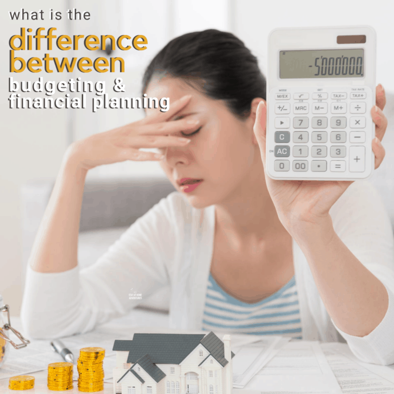 What is the Difference Between Budgeting and Financial Planning?