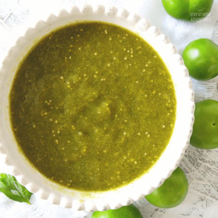 Salsa Verde Recipe (Using an Air Fryer)