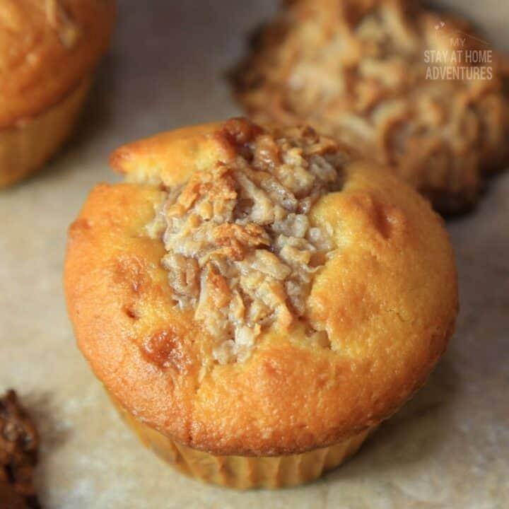 Hazelnut Coconut Macaroon Cupcakes Recipe