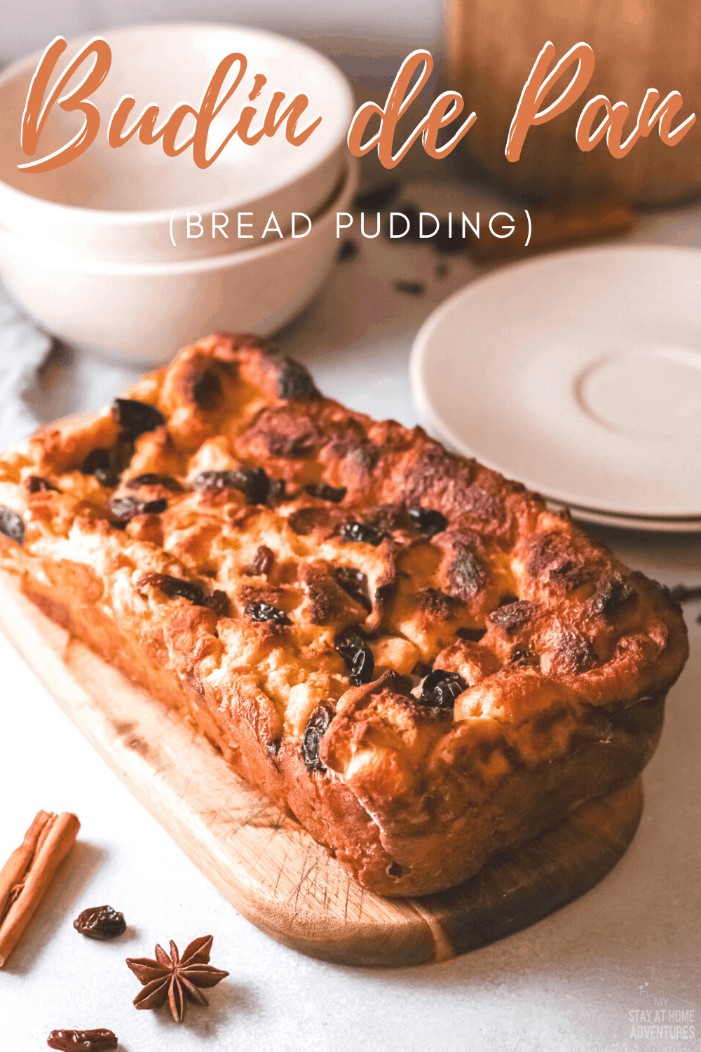 Learn how to create these bread-based Latin American Pudin de Pan recipe made with bread, vanilla, cinnamon. via @mystayathome