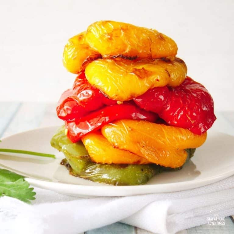 How to Roast Bell Peppers in the Air Fryer