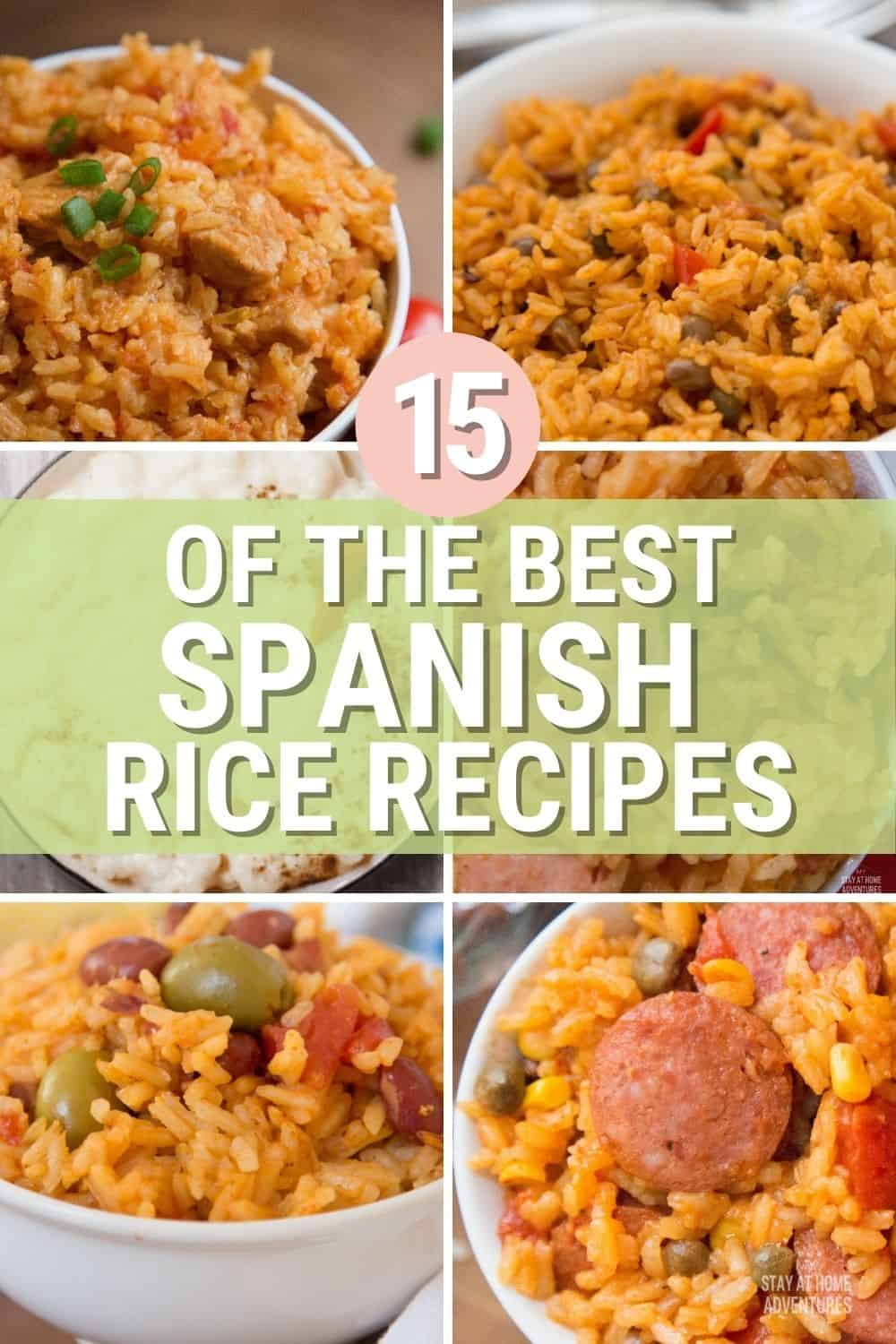 Looking for a delicious Spanish rice recipe? We have the best Spanish rice recipes from around the web, from caldero to Instant Post. #spanishrice #ricerecipes #latinrice via @mystayathome