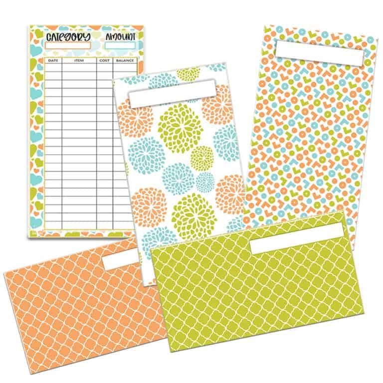 Easter & Spring Cash Envelope Printables
