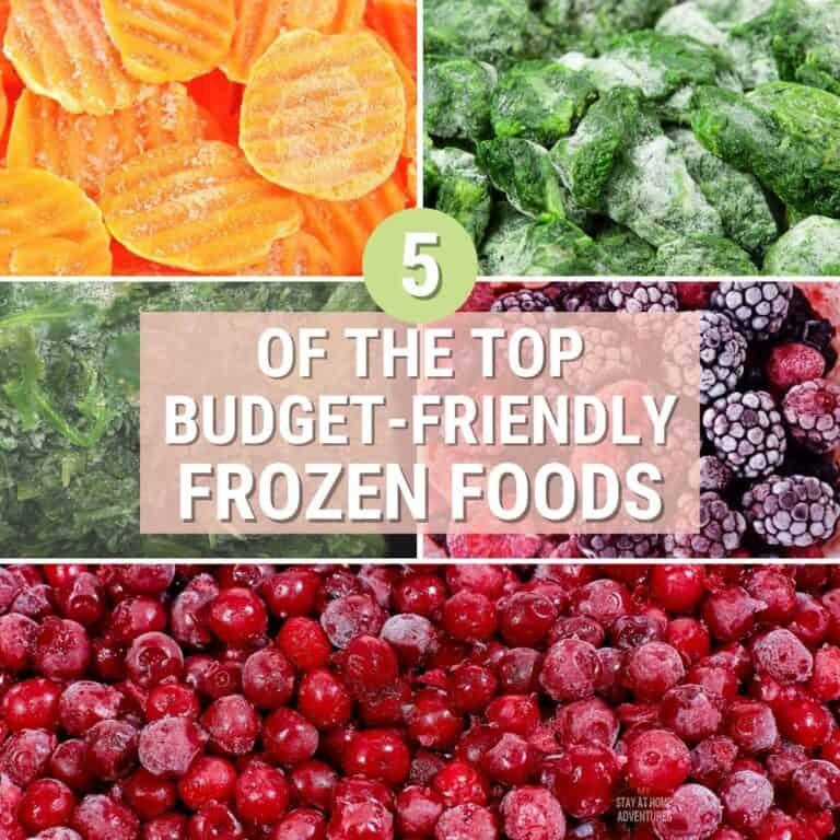 5 Best Frozen Foods That Won't Bust Your Budget