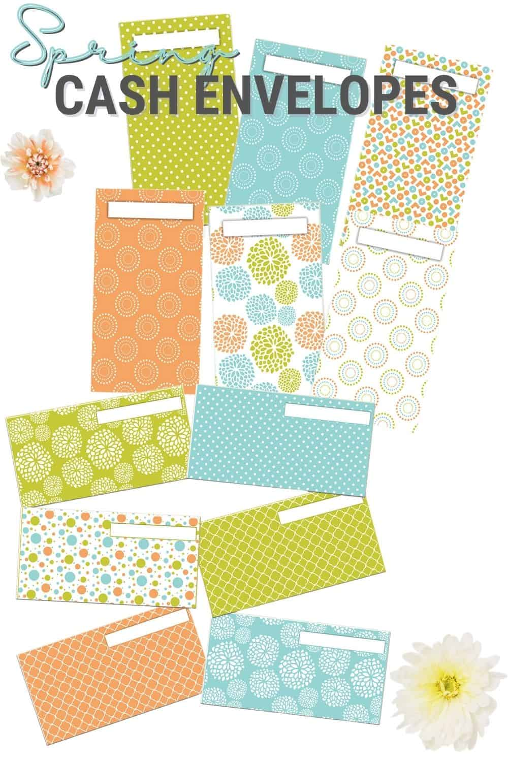 Check out the latest Easter and Spring cash envelopes and trackers collections from the Cash Envelope Templates shop. #cashenvelopes #printables #cashenvelopebudgeting via @mystayathome
