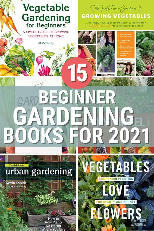 Starting a garden this season? Check out these best beginner gardener books you must read before starting your garden this season. #beginnergardener #gardeningbooks via @mystayathome