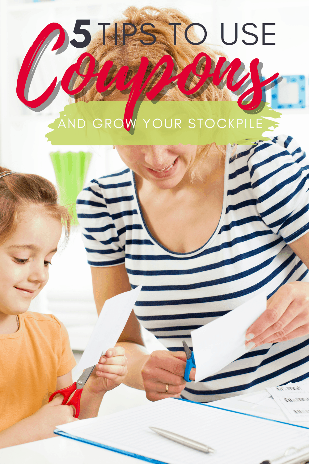 If you haven't been using coupons this whole time, it's not too late to start. Get the tips here on how to save money with coupons while still growing your stockpile. via @mystayathome