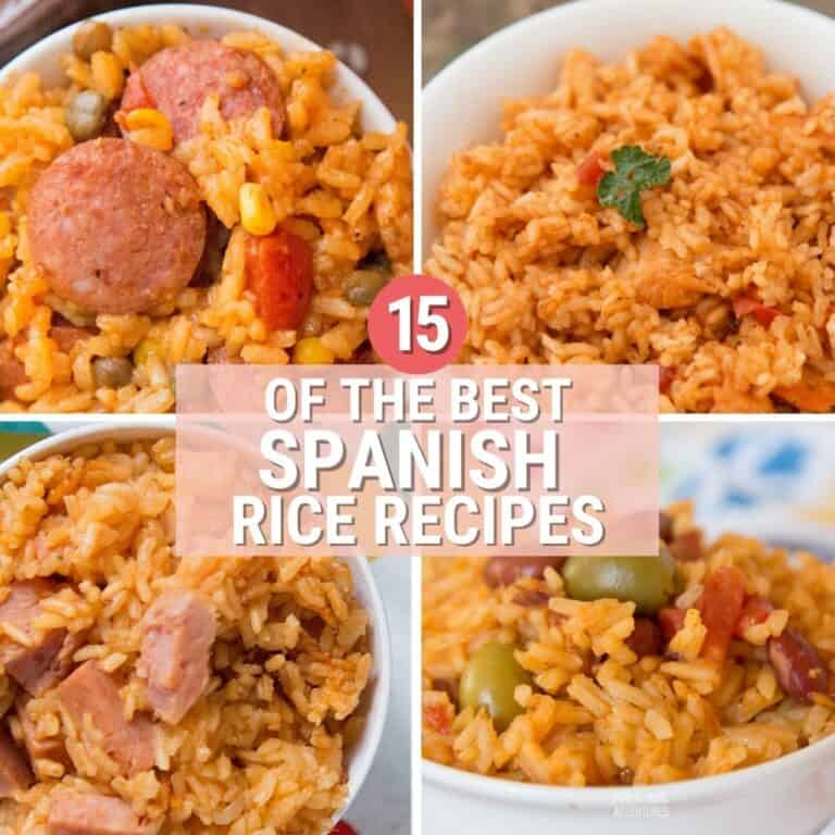 15 Of The Best Spanish Rice Recipes Your Family Will Love!