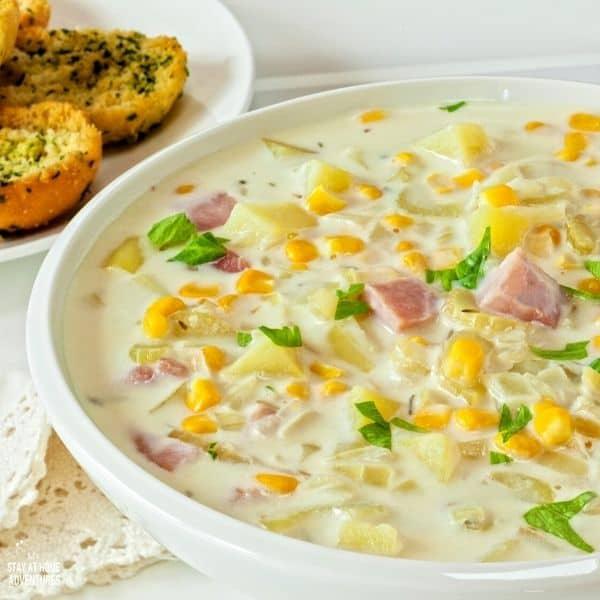 Slow Cooker Ham and Potato Soup (Plus 10 Delicious Ham Dinner Ideas)