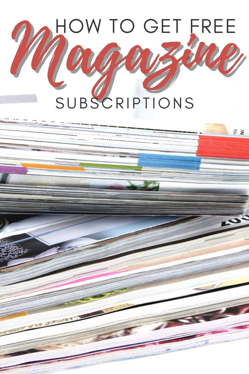 Learn about the different ways you can find free magazine subscriptions and where you can go to get them with no strings attached. via @mystayathome