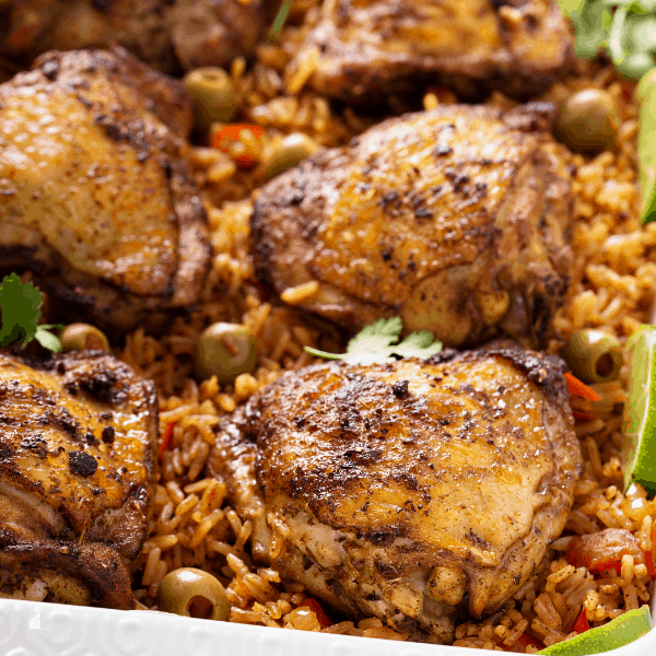 photo of cuban arroz con pollo
