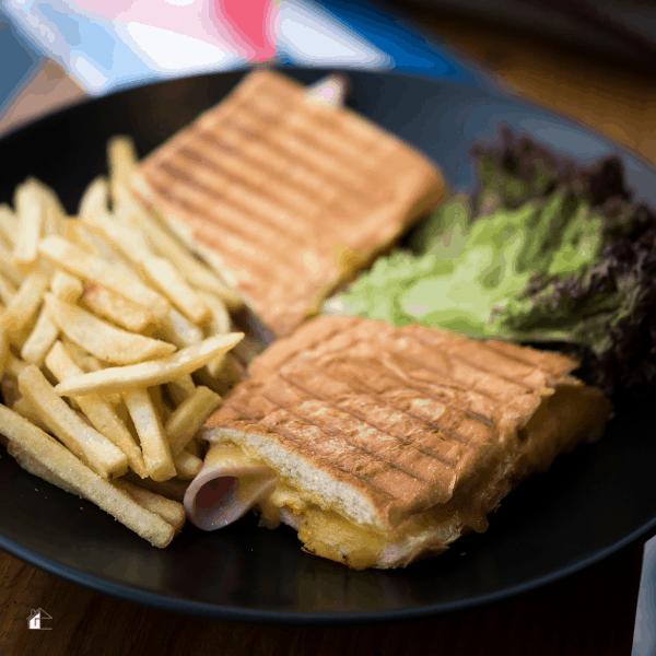 photo of elena ruz sandwich plated