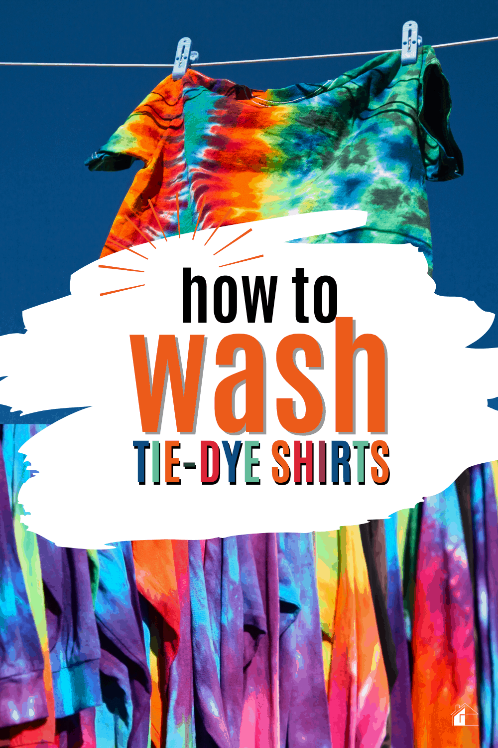 If you've ever had a tie-dye shirt, then you'll know that one of the hardest parts is knowing how to wash them. Here's what you need to know to keep your shirts looking great via @mystayathome