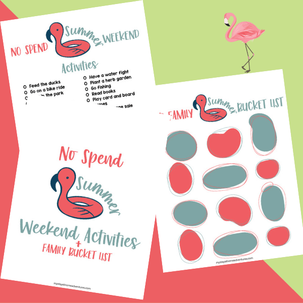 No-Spend Summer Weekend Activities For The Family: Bucket List Printable