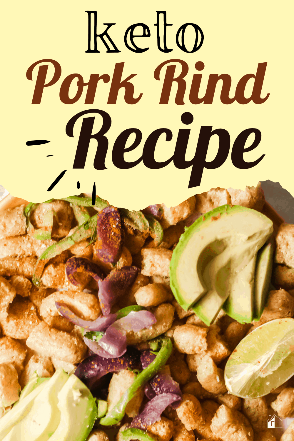 With herbs, spices, and avocado, in Keto Pork rind Nachos, you can continue enjoying your healthy snack while on the very low-carb keto diet. via @mystayathome