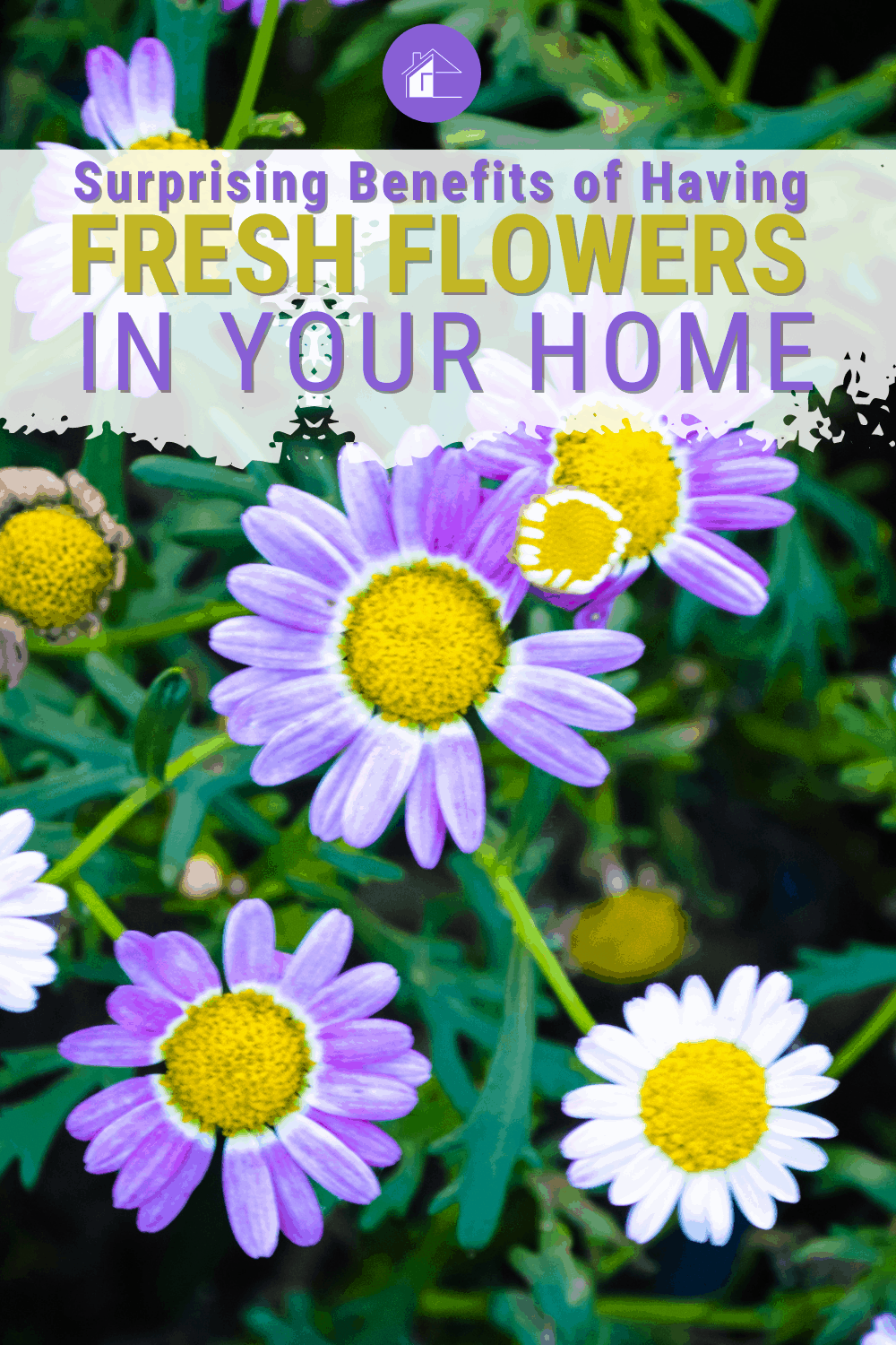 Find out some surprising benefits of having fresh flowers in your home. This article tells you all about it, from the health and wellness aspects to how they can improve your mood. #freshflowers via @mystayathome